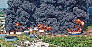 PDH Course - Accident Case - Caribbean Petroleum Tank Explosion and Fire